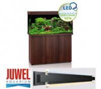 Juwel Aquariumkombination Rio 350 -LED- SBX mit Schrank - dunkles Holz