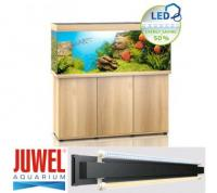Juwel Aquariumkombination Rio 450 -LED- SBX mit Schrank - helles Holz