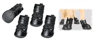 Karlie Xtreme Boots Hundeschuhe 4er Set Schwarz - XXS