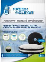 catit Fresh und Clear Premium Doppelfunktions-Ersatzfilter